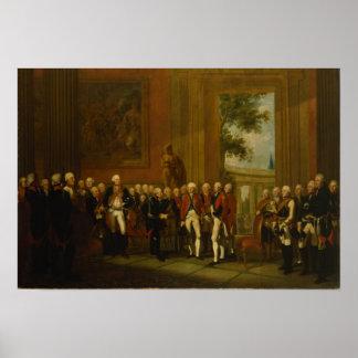 Reception for the Duke of York in Sanssouci Poster