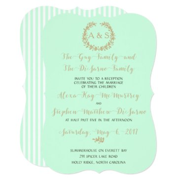 Beach Themed Reception Invitation Only