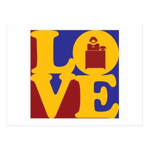 Reception Love Postcards