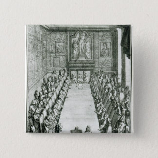 Reception of an Member of the French Academy Pinback Button