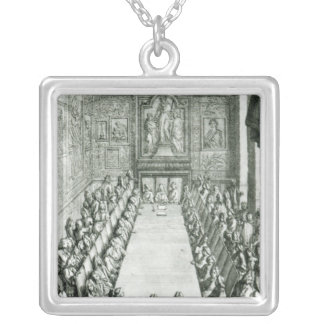 Reception of an Member of the French Academy Silver Plated Necklace