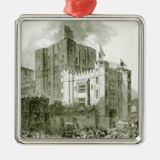 Reception of Queen Elizabeth at Kenilworth Metal Ornament