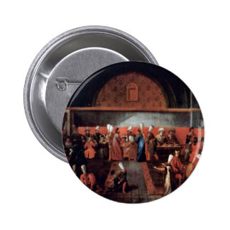 Reception Of The French Ambassador Le Vicompte D'A 2 Inch Round Button
