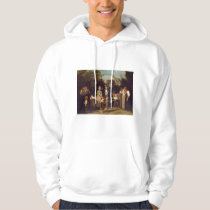 Reception of the Wedding Couple by Theodor Schuz Hoodie