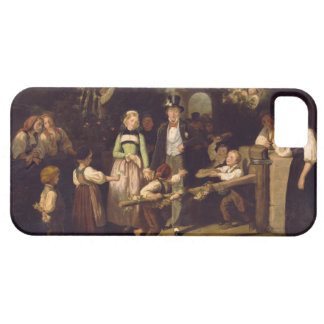 Reception of the Wedding Couple by Theodor Schuz iPhone SE/5/5s Case