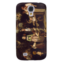 Reception of the Wedding Couple by Theodor Schuz Samsung S4 Case