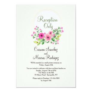 reception only invitations zazzle