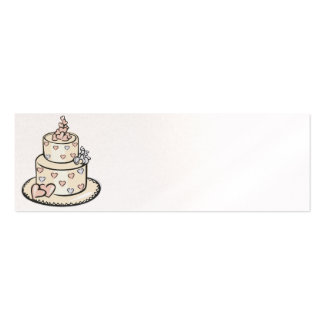 Reception Place Setting Cards - Pearl Double-Sided Mini Business Cards (Pack Of 20)