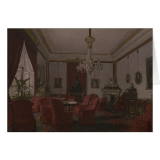 Reception Room in Berlin Reich Chancellor's Card