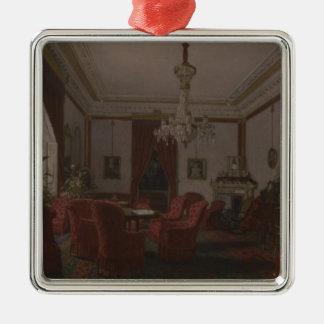 Reception Room in Berlin Reich Chancellor's Metal Ornament