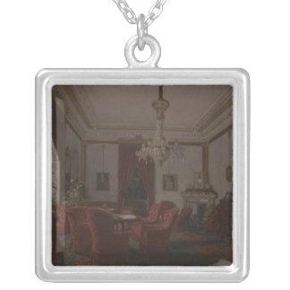 Reception Room in Berlin Reich Chancellor's Square Pendant Necklace