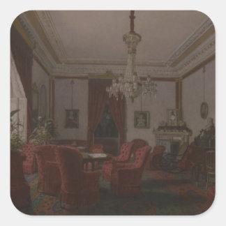 Reception Room in Berlin Reich Chancellor's Square Sticker