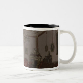 Reception Room in Berlin Reich Chancellor's Two-Tone Coffee Mug