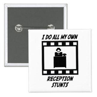 Reception Stunts Pinback Buttons