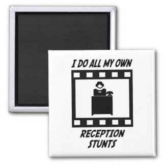 Reception Stunts Fridge Magnets