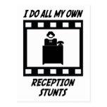 Reception Stunts Postcard