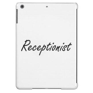 Receptionist Artistic Job Design iPad Air Case
