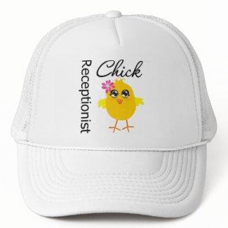 Receptionist Chick hat