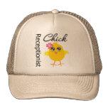 Receptionist Chick Hats