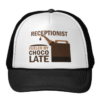 Receptionist (Funny) Chocolate Trucker Hat