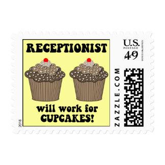 receptionist postage