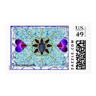 receptive stamp