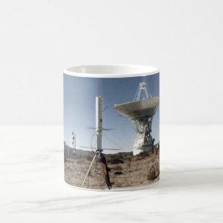 Receptor de satélite del tránsito taza de café