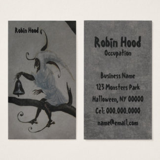 Recess is Over ~ Business Card / Halloween
