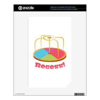 Recess! Decals For The NOOK Color