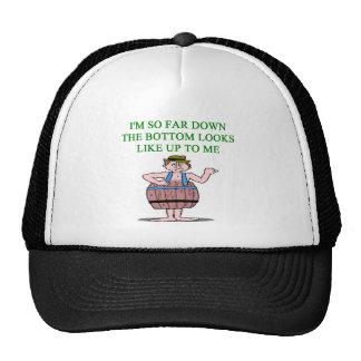recession depression joke trucker hats