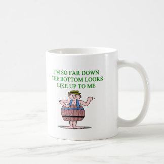 recession depression joke mugs