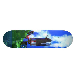 Recession & Economic Recovery Skateboard