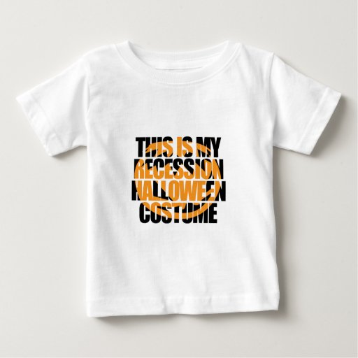 Recession Halloween Costume Shirt