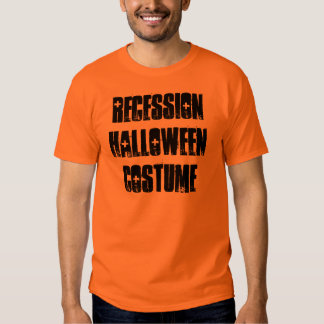 Recession Halloween Costume T-Shirt, Funny Shirt