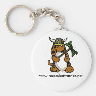 Recession WarPuppy Keychain