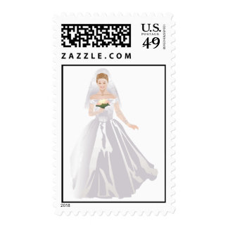 Recessional del boda de la novia que camina sello