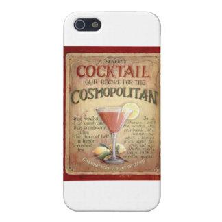 receta cosmopolita del cóctel iPhone 5 fundas