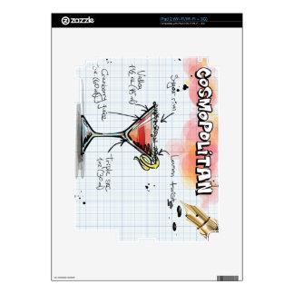 Receta cosmopolita - regalo del cóctel iPad 2 skins