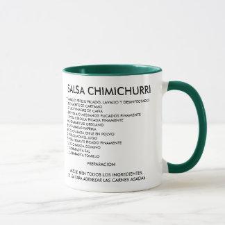 Receta de Chimichurri Mug
