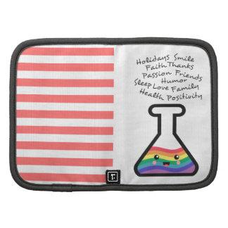 Receta de hacer su propio arco iris en un cubilete organizadores