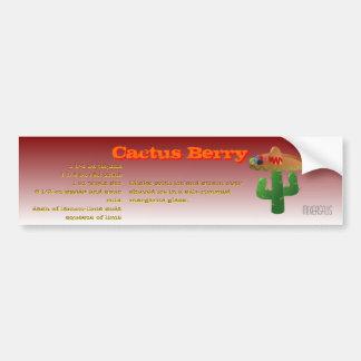 Receta de la bebida de la baya del cactus pegatina para coche