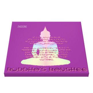 Receta de la bebida de la hada maligna de Buda Lona Estirada Galerias