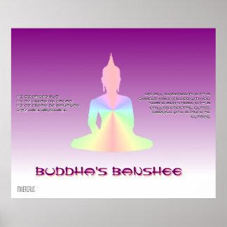 Receta de la bebida de la hada maligna de Buda Póster