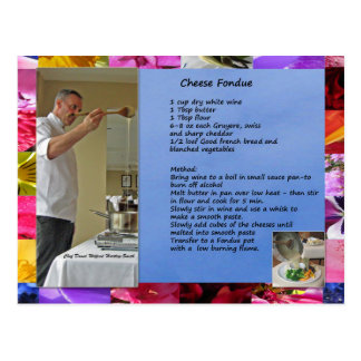 """Receta de la """"fondue"""" del queso de David del Postal"""