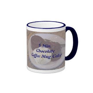 Receta de la torta de la taza de café de 5