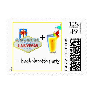 Receta de Las Vegas Bachelorette para la diversión Sello