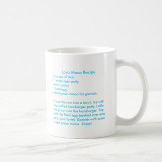 Receta de Moco del loco en una taza