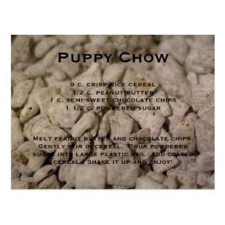 Receta del perro chino de perrito tarjetas postales