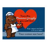 Receta del personalizado del cocinero del panadero tarjetas postales