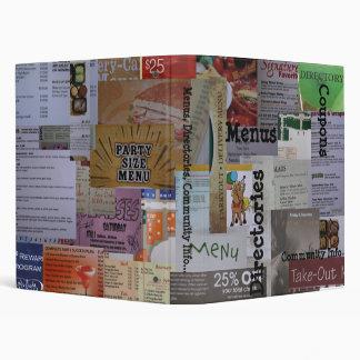 Receta, directorio, carpeta de la comunidad Info